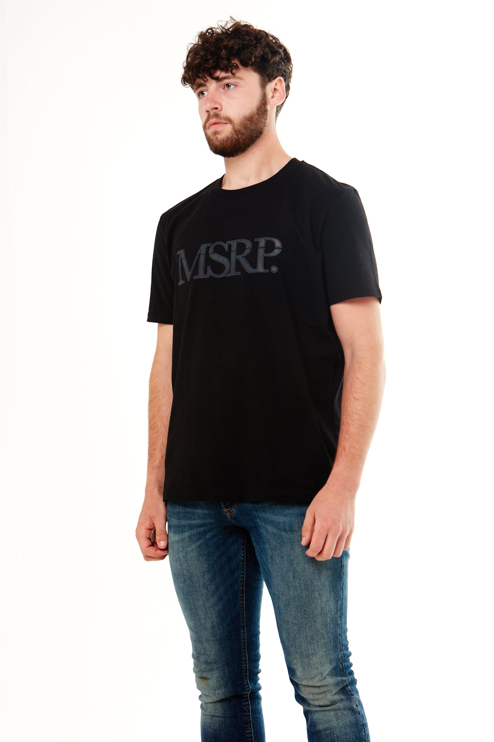 Varicoloured MSRP T-Shirt (Black)