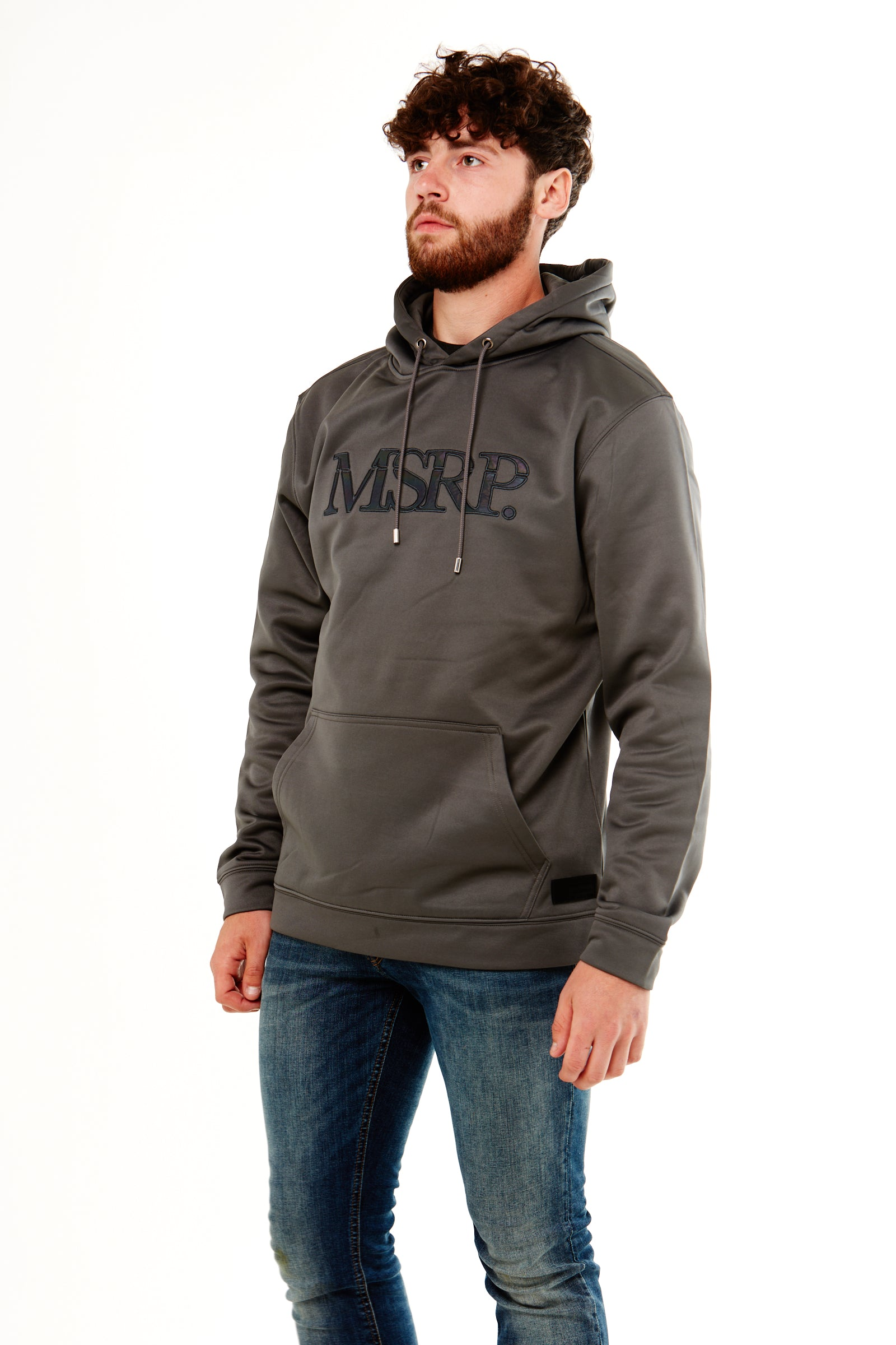 Varicoloured MSRP Hoodie (Slate Grey) (Soft Shell)