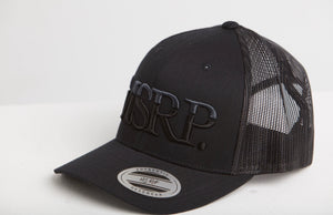MSRP Logo Cap Black (Grey/Black)
