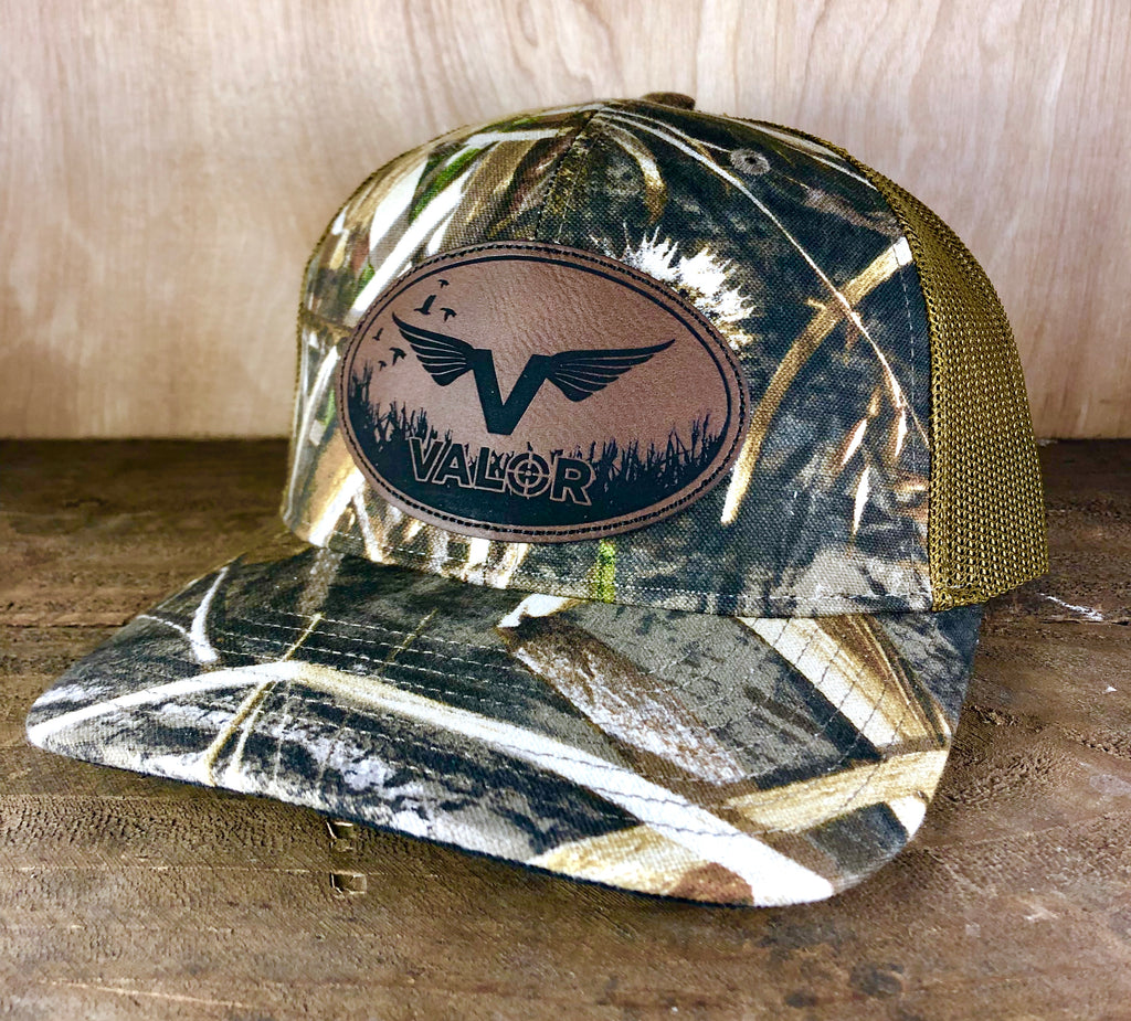Valor Logo Mesh Back Hat