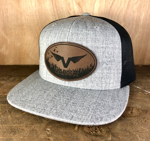Valor Logo Flat Bill Trucker