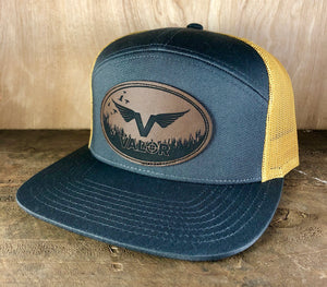 Valor Logo Seven Panel Hat