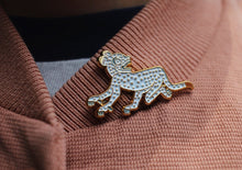 "Pin "" Jaguar Blanco"""