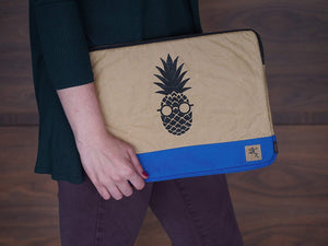 "Funda para Laptop 13"" Piña Reforzada color Azul"