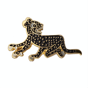 "Pin "" Jaguar Negro"""