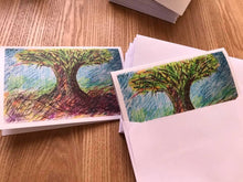 Load image into Gallery viewer, Tree of Life - Cards of 5 pack