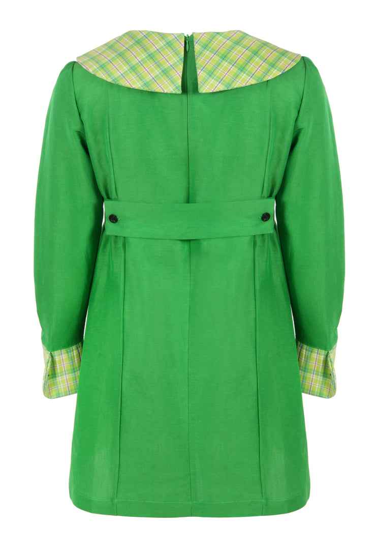 CLAUDETTE DRESS GREEN