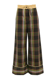 Hansel Pant Brown Plaid