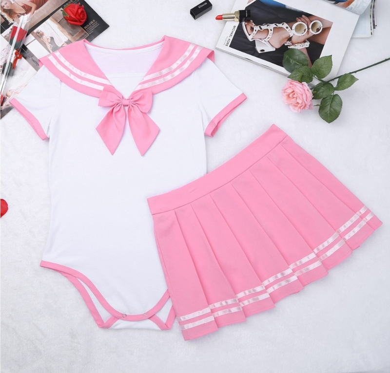 Pink Sailor Suit