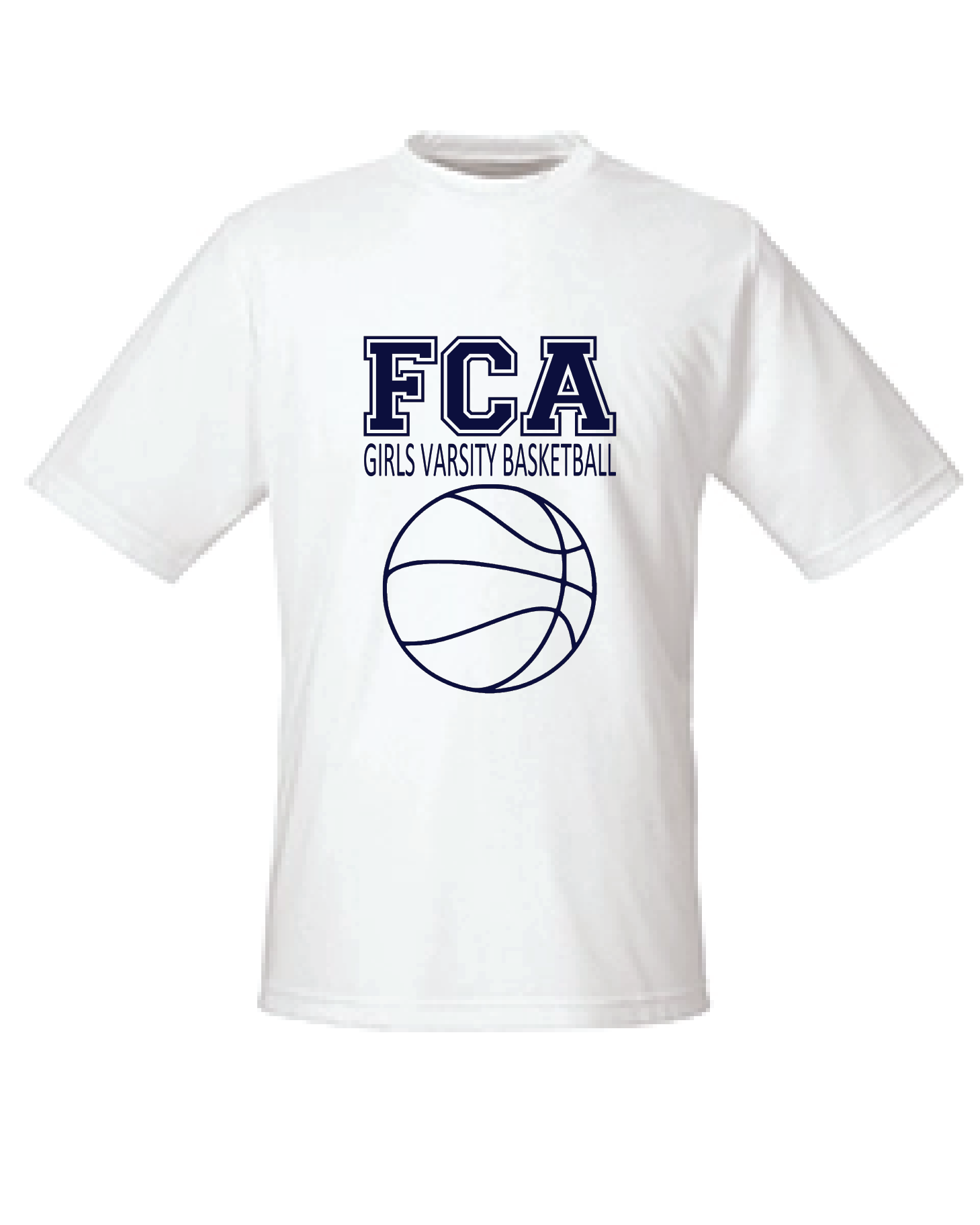 FCA Girls Basketball Tee