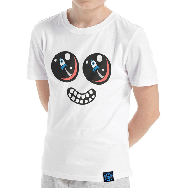 ROCKET EYES FACE T-SHIRT