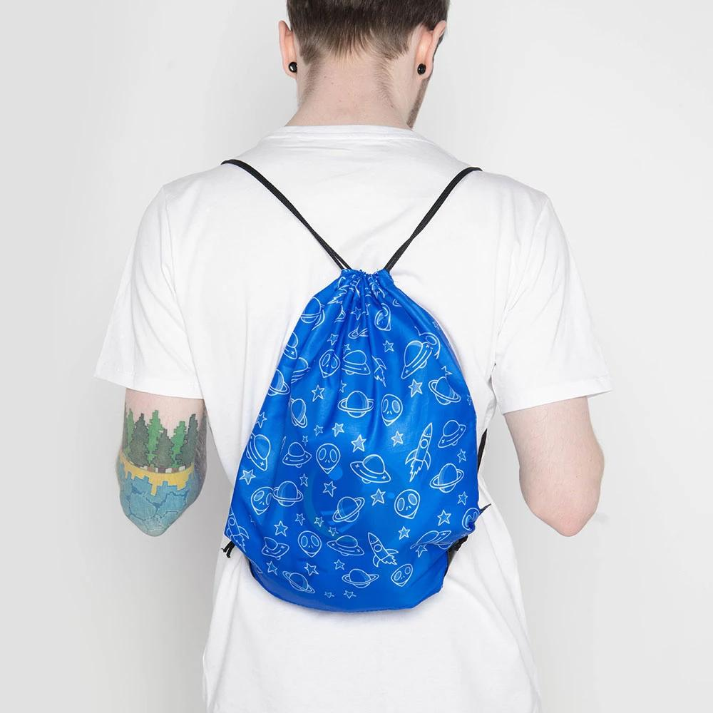 DanTDM Space Doodles Drawstring Bag