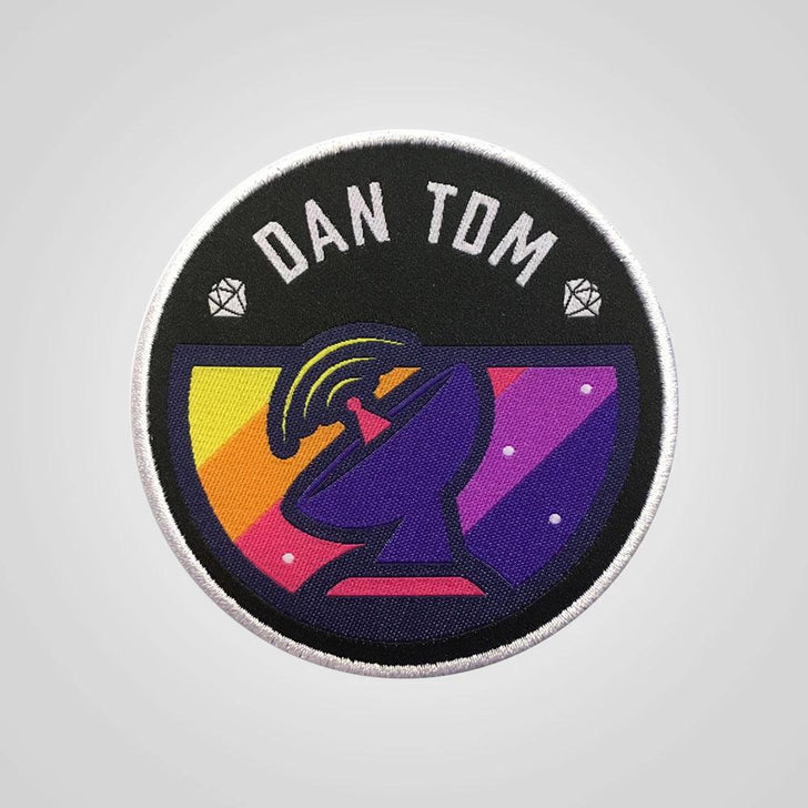 DanTDM Space Satellite Patch