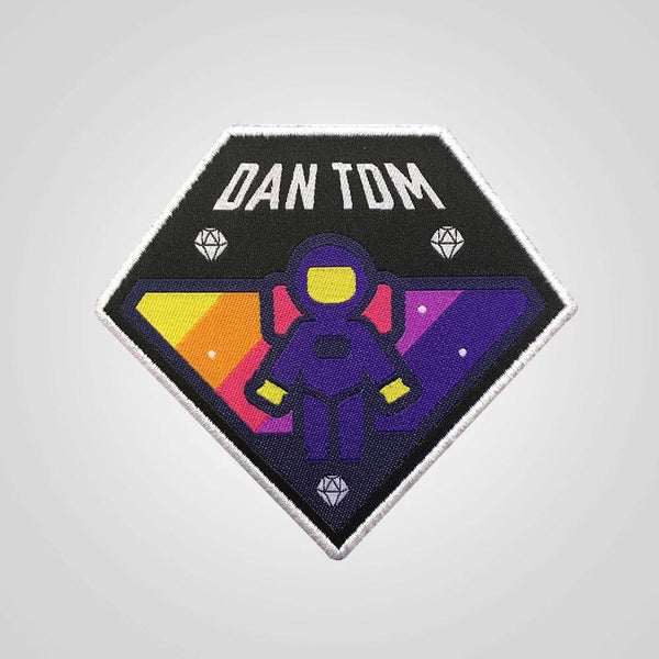 DanTDM Diamond Astronaut Patch