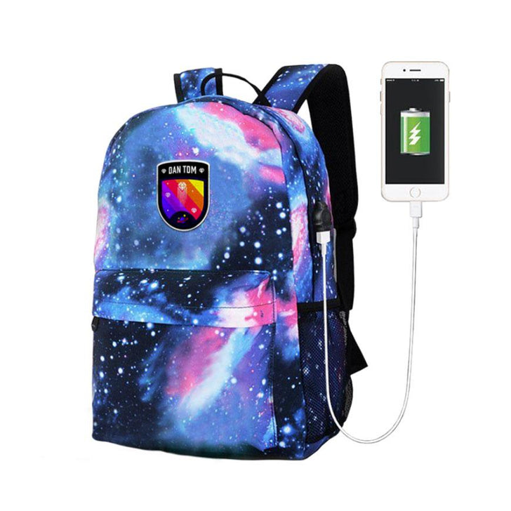 DanTDM Diamond Galaxy Backpack