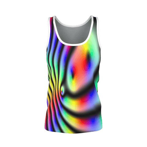 FRACTAL DAFA TANK for Women by DJ Pascal DADA _ AS-TEK