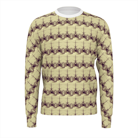 Pattern Fills _ FRACTAL V3  Sweat Shirt  for Men by DJ Pascal DADA _ AS-TEK