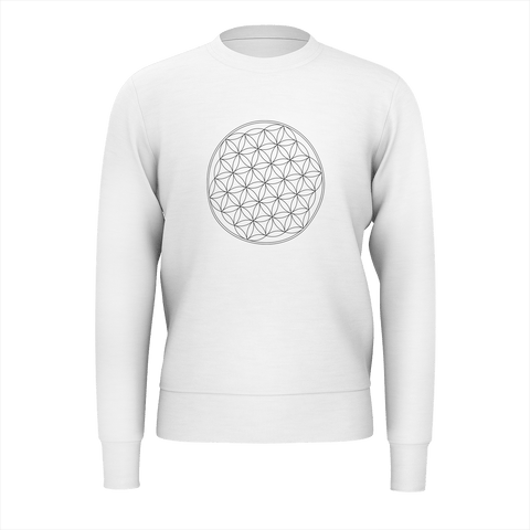 SYMBOLIC POSITIV VIBE of Life _ Sweet Shirt for Men_ 350g _ Made with Love