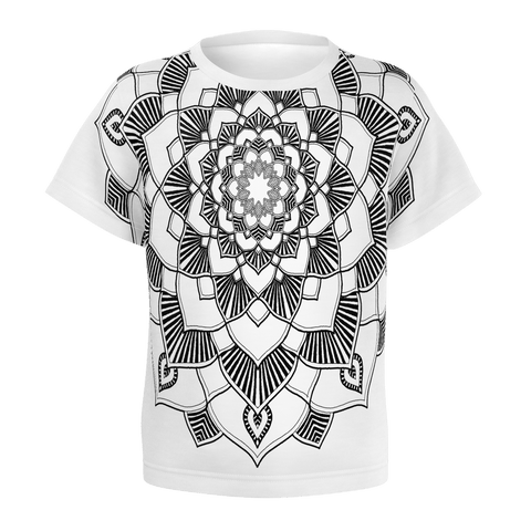 AS_TEK - MANDALA 1 _ Tee Shirt for Men