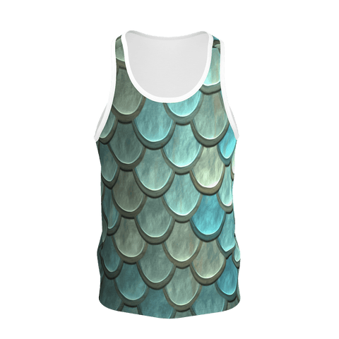 Made with Love _ Fish texture _ Tank for Men