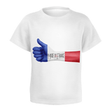 bleu blanc rouge HAND Tee shirt - Made in France (td) - Soul of The Gypsies