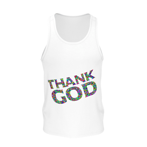 Made with Love _ Thank God _ Tank for women