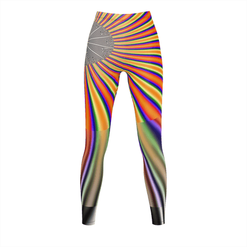 FRACTAL V2  Legging for Women by DJ Pascal DADA _ AS-TEK