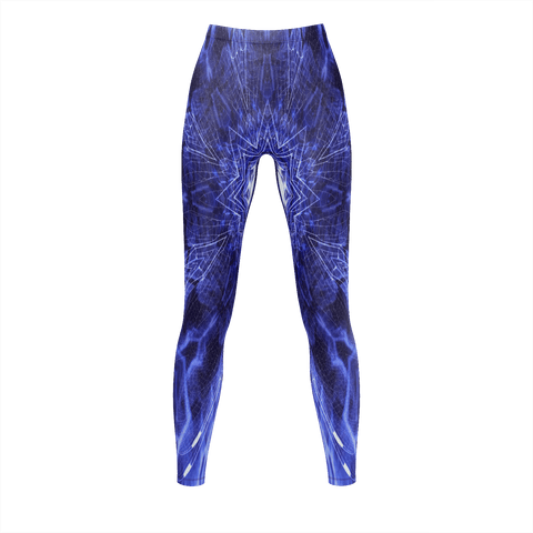 AS-TEK _ Blue STAR _ Legging for Women - Soul of The Gypsies