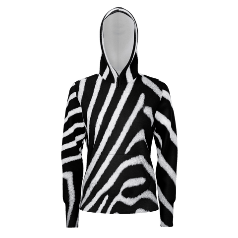 MADE WITH LOVE _ ANIMAL SERIE _ ZEBRA2 _ HOODIE WOMEN - Soul of The Gypsies