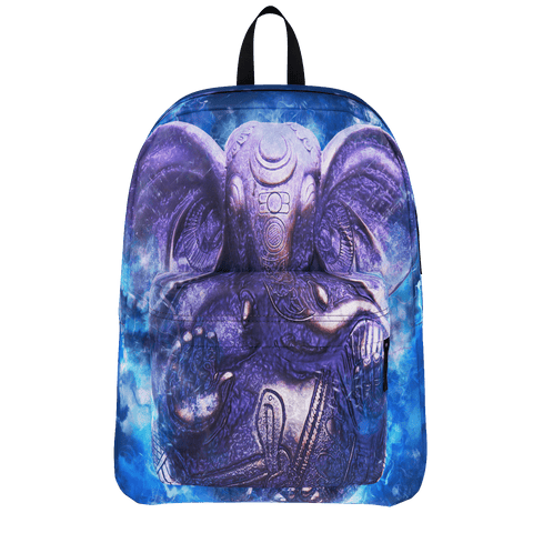 MADE WITH LOVE- BLUE GANESHA -  BAG
