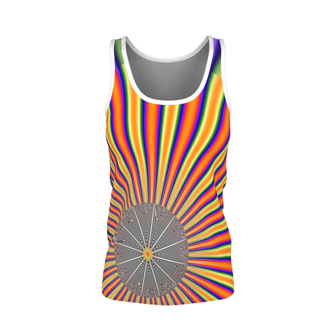 FRACTAL V2  TANK for Women by DJ Pascal DADA _ AS-TEK