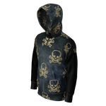 KILLUMINATI _ GOLDEN SKULLS _ HODDIE