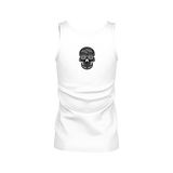 SKULL & BONES CORNER _ TOP TANK SKULL FOR WOMAN - Soul of The Gypsies