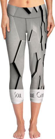 SOUL OF THE GYPSIES _ ABSTRACT7 - Yoga Pants - Soul of The Gypsies