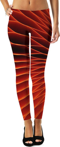 SOUL OF THE GYPSIES _ ABSTRACT12 -Leggings - Soul of The Gypsies