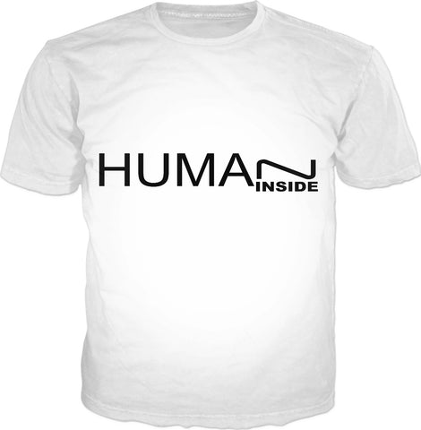 MADE WITH LOVE - HUMAN INSIDE _ T-Shirt WHITE - Soul of The Gypsies