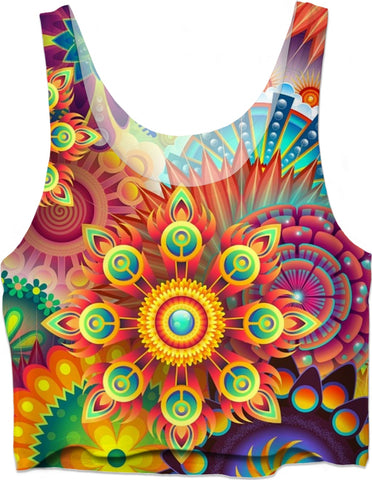 Soul of The Gypsies _ PSYCHEDELI-DELO _ Crop Top - Soul of The Gypsies