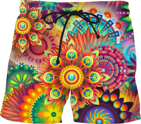 Soul of The Gypsies _ PSYCHEDELI-DELO _ Swim Shorts - Soul of The Gypsies