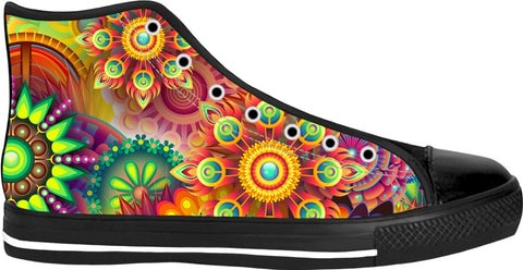Soul of The Gypsies _ PSYCHEDELI-DELO _ Black High Tops - Soul of The Gypsies