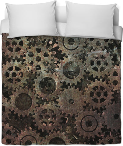 Soul of The Gypsies _STEAMPUNK MODEL    _ Duvet Cover - Soul of The Gypsies