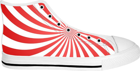 SOUL OF THE GYPSIES -PSYCHEDELIC FILES _017_ White High Tops - Soul of The Gypsies
