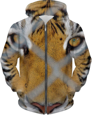 MADE WITH LOVE _ photo By artist ENymART ( Switzerland ) TIGER Hoodie - Soul of The Gypsies