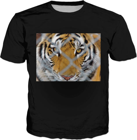 MADE WITH LOVE _ photo By artist ENymART ( Switzerland ) TIGER T-Shirt Black - Soul of The Gypsies