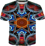 AS-TEK Fractal 007 - Design by L.Mayer _ T-Shirt - Soul of The Gypsies