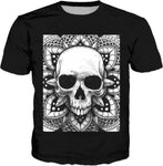 AS-TEK _ SMILE IN YOUR FACE - T-Shirt Black - Soul of The Gypsies