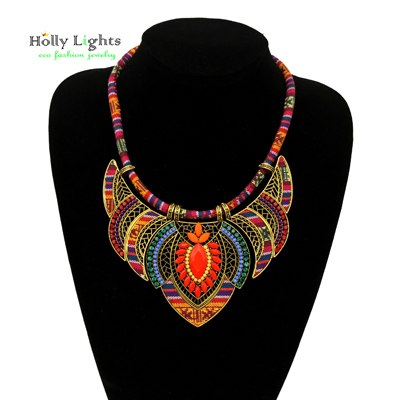 Female vintage choker pendants & necklaces tribal ethnic bohemian jewelry - Soul of The Gypsies