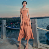 Summer Bohemian Women Long Dress Sexy Boho Strapless Ball  Hippie Chic Ankle length Dress - Soul of The Gypsies
