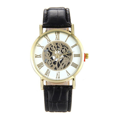 Hollow Quartz Military Watch Dial Analog - Soul of The Gypsies
