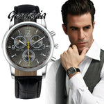 "Fashion Analog Quartz Watch Luxury Brand Faux Leather (Vegan) for Men""s - Soul of The Gypsies"