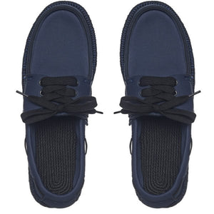 Boat Shoes (Navy/Black)
